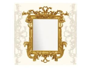 Picture of Wall Mirror art. 114, wooden mirror