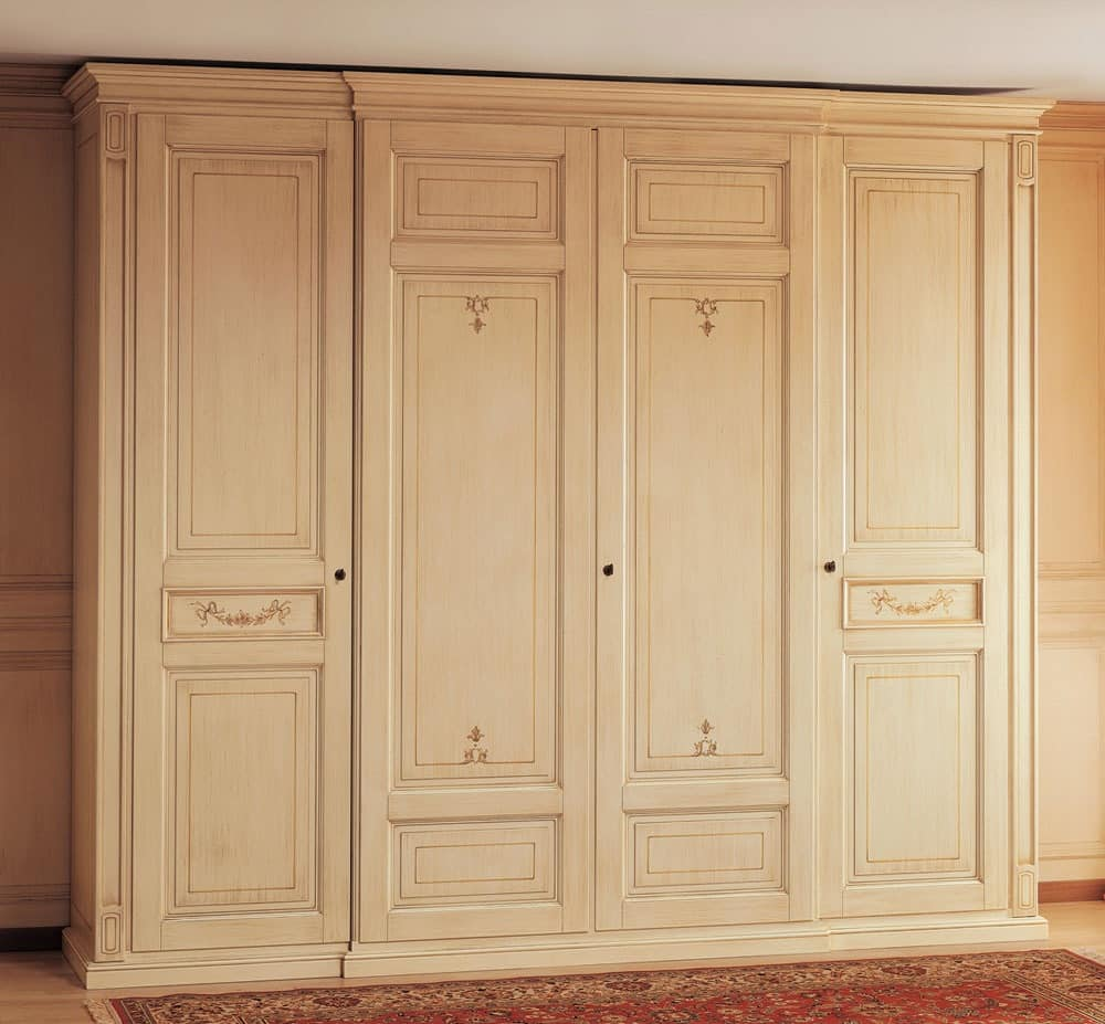 Wardrobe closet large wood wardrobe closet for Cabinet design