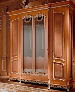 Art. 800/W1, Luxury classic wardrobe with mirrors