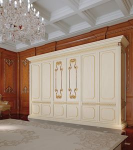 Art. 810/W, Classic wardrobe for bedroom