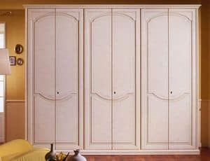 Pegaso wardrobe, Luxurious wooden Wardrobe for villas and hotels