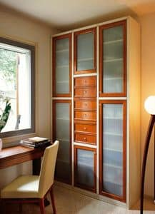Picture of Telaro PC363, decorated wooden wardrobe