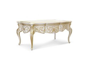 4626, Shaped carved writing desk