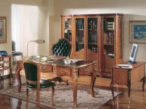 642, Desk in rosewood, in classic luxury stile