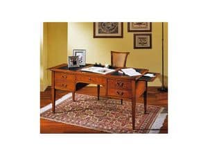 Picture of Adelaide classic desk, writing desk in wood