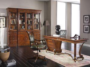 Art. 1250, Elegant wooden desk with a classic design
