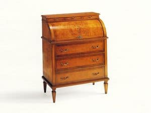 Byron, Writing desk with opening mechanism, classic style