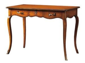 Cristina FA.0046, Desk with 3 drawers, in Louis XV style