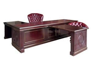 Picture of Desk on project Oxford, classic style desks
