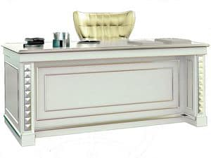 Picture of Desk SCR006M Milano, wooden desk