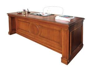 Picture of Desk SCR006OP oxford, inlayed writing desk