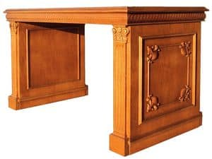 Picture of Desk SCR007L Luxor, desks in wood