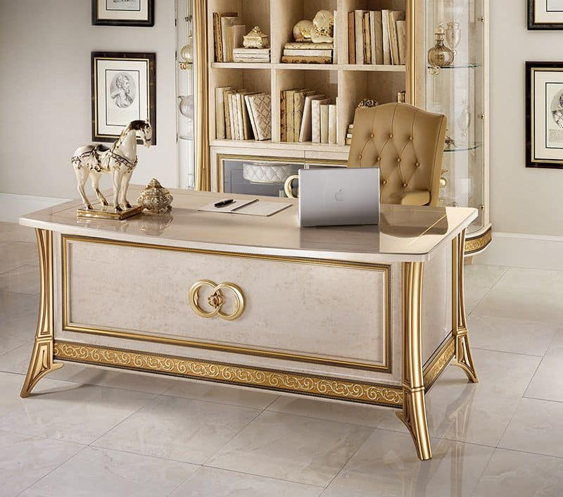Writing Desk For Classic Office Idfdesign