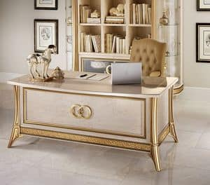 Melodia office desk, Writing desk, for classic office