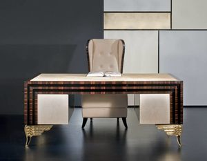 Mikado MK157, Luxurious desk with leather top