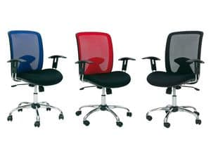 Picture of 529 - W81, office chairs with armrests