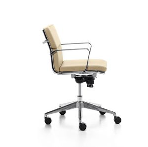 Aalborg Soft 02, Executive chair with tilt mechanism, for office