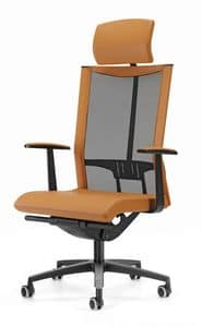AVIANET 3622, Directional office chair, with headrest
