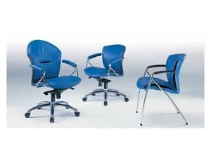 Picture of Cherie A, office chair with castors
