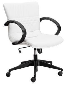 Diamond medium, Armchair with medium backrest, for executive office