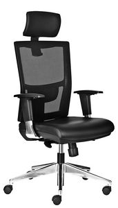 Driade SY with headrest, Office chair with height adjustable loinrest