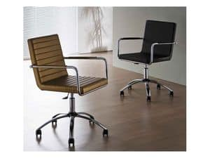 Picture of H5 LR D, office chair with castors