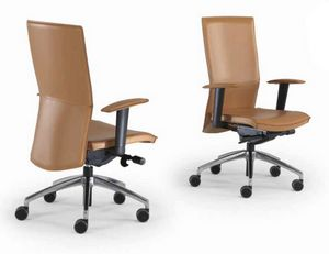 Kelly-PB, Leather office chair
