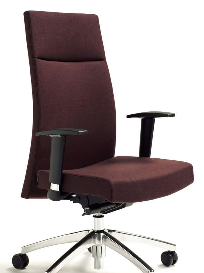 Ergonomic Office Chairs With Armrests And Wheeled Base