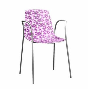 Picture of Alhambra cod. 92/TB, metal chair with arms