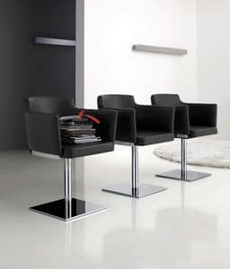 Picture of Rossana 429, linear chair with arms