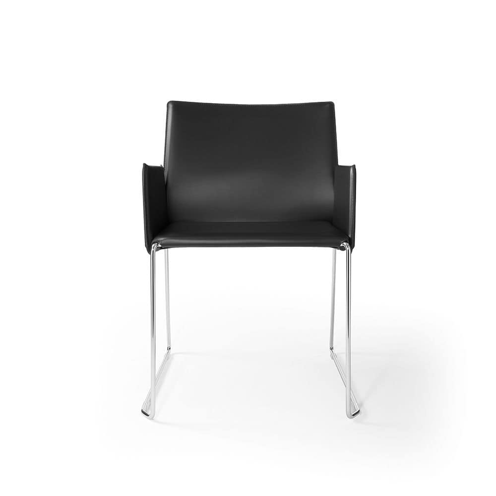 Armchair With Sled Base Leather Upholstery Idfdesign  Armchair Wiki   uballs com. Philippe Starck Ghost Chair Wikipedia. Home Design Ideas