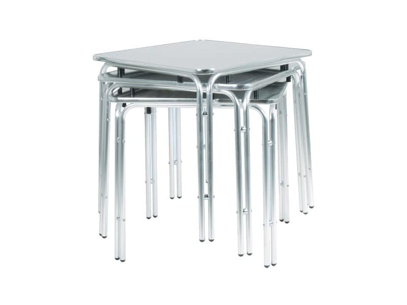 033, Metal table for bars and ice cream parlors