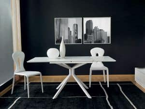 Picture of Tiago, tables with top in plastic material
