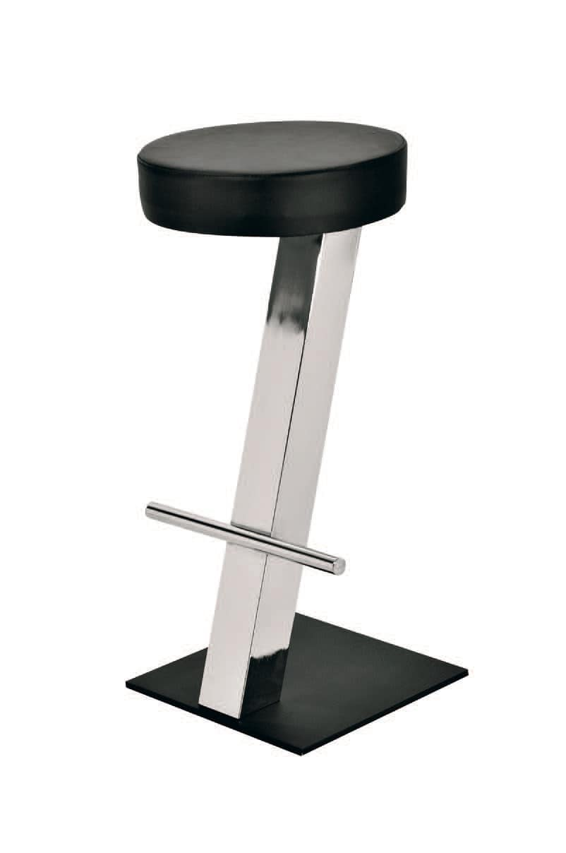 SG 019 / T, Simple stool with circular seat, for snack bars