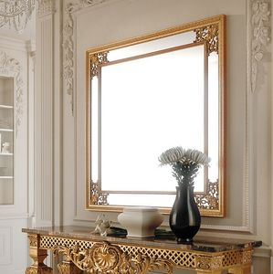 Art. 286/S, Square mirror with decorative frame