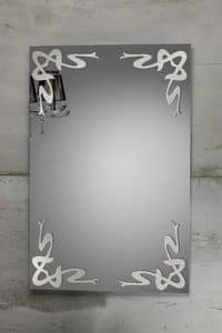 DECO MIRROR, Mirror with decorations