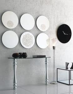 dl200 marbella, Round mirror for modern living rrom