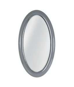 Ego mirror, Oval mirror with curved glass frame