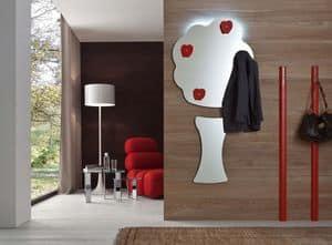 k190 apple, Modern mirror tree shaped