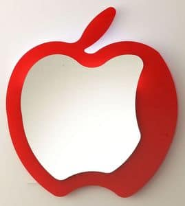 k193 fruit, Modern mirror apple-shaped