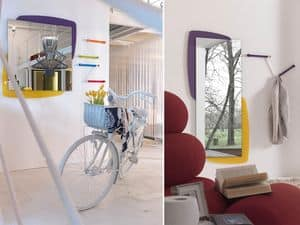 Picture of k198 visual, mirrors with elaborated frame