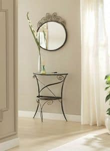 Klimt mirror, Mirrors with elaborated iron frame