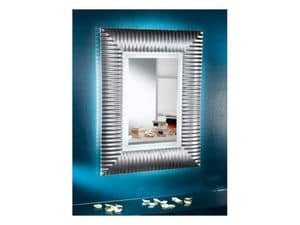 Picture of Rialto - Mirror with or without led, worked mirror