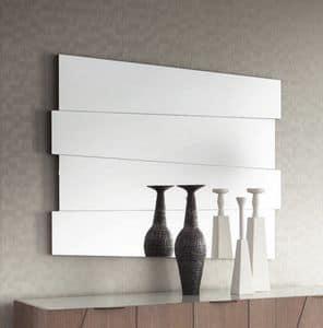 Slash Art. 104.751, Rectangular mirror with oak support