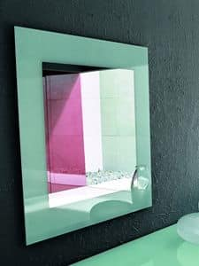 Picture of TOSHIMA, decorated mirror