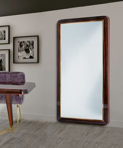 W07M, Large mirror with wooden frame