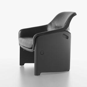 Avus Club chair 1920-12, High design chair, plastic, padded with polyurethane