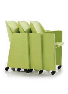 Evita 5020, Hanging chair on wheels for waiting rooms