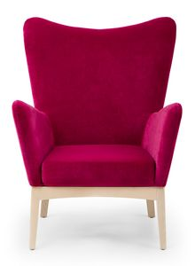 Love lounge, Lounge armchair with high backrest