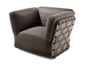 Picture of Obi armchair, armchairs-in-leather-or-fabric